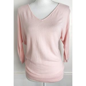 Express • Pastel Pink Studded Back Sweater